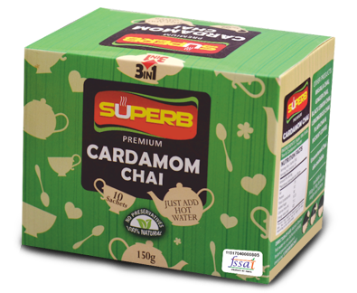 Cardomom In Instant Coffee