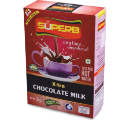 Superb chocolate milk